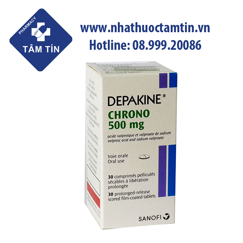 Depakine Chrono 500mg
