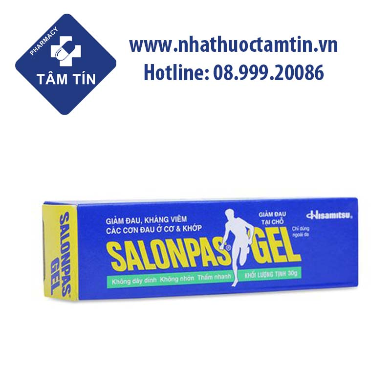 Salonpas Gel Tube 30g
